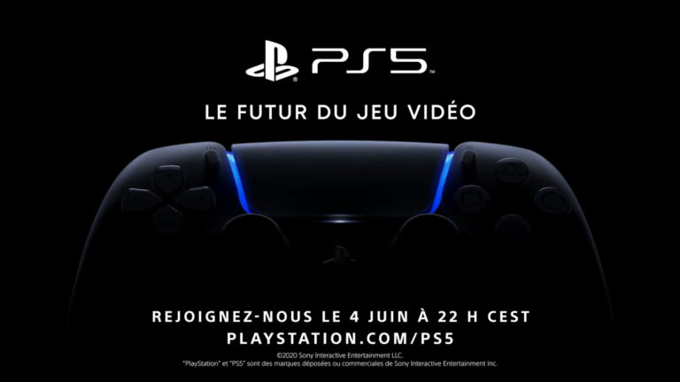 PlayStation 5 : Sony dévoilera les premiers jeux le 4 juin