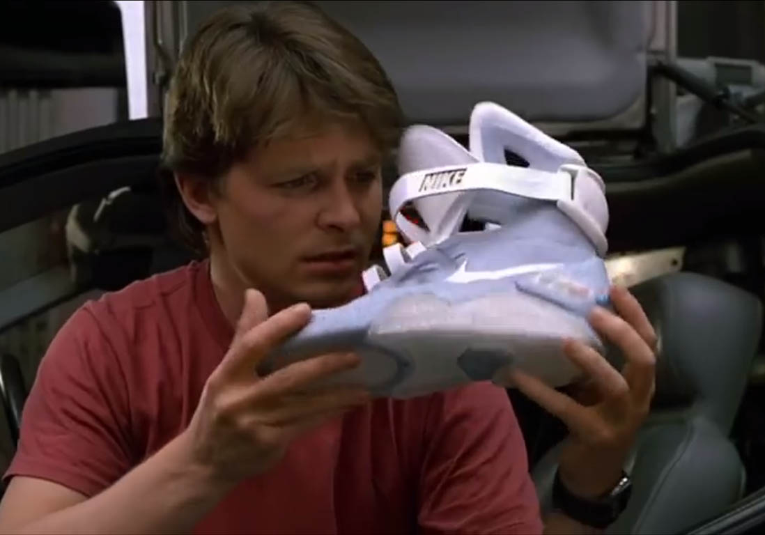 Marty McFly - Nike Air Mag