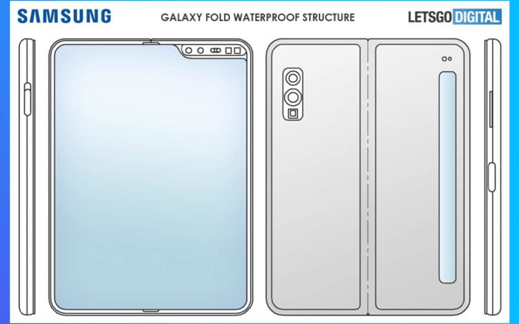 Samsung Galaxy Fold - Waterproof structure