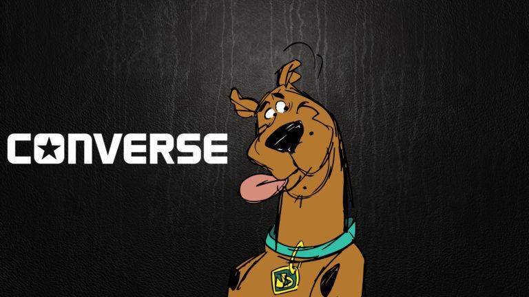 Converse lance une gamme de baskets aux couleurs de Scooby-Doo !