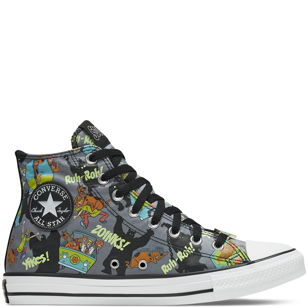 Scooby-Doo x Converse Chuck Taylor All Star - Almost Black