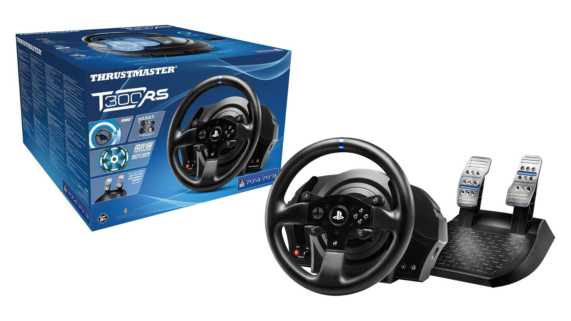 Thrustmaster T300RS - Packaging