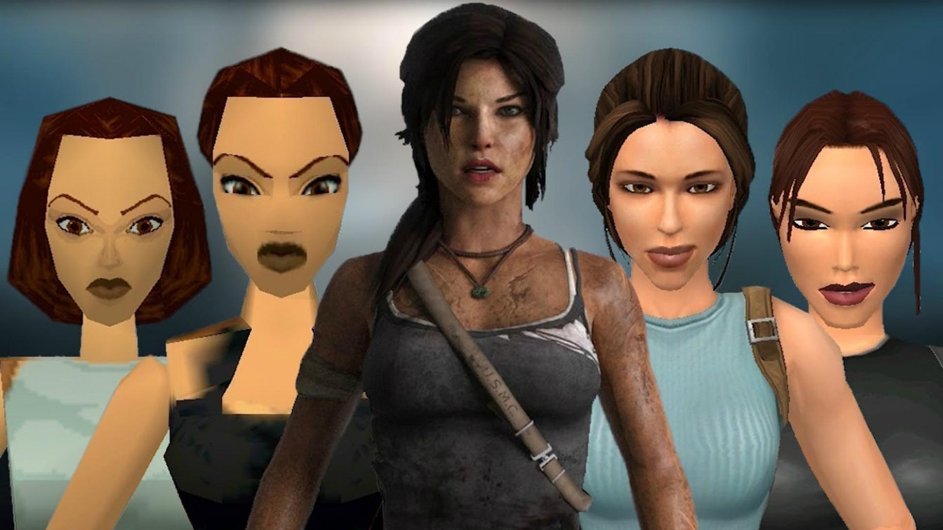 Tomb Raider : l'évolution graphique de Lara Croft de 1996 à 2014