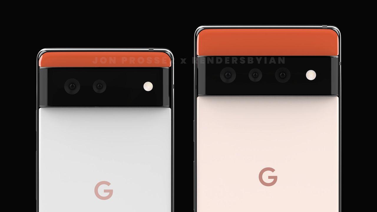 Google Pixel 6 et Pixel 6 Pro - Capteurs photo